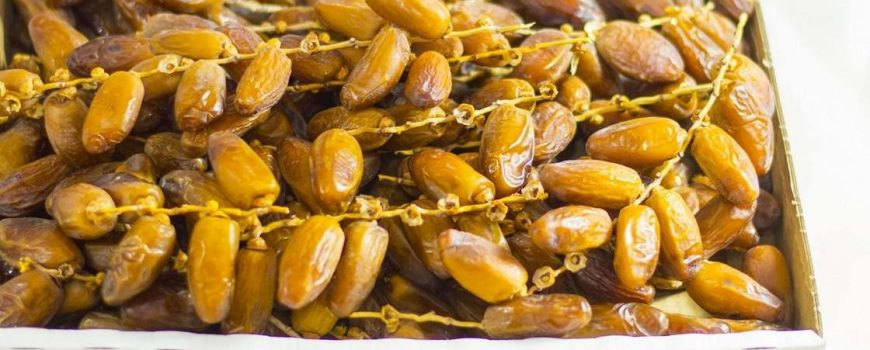 création d'un grand marché des dattes dans la région de Kébili