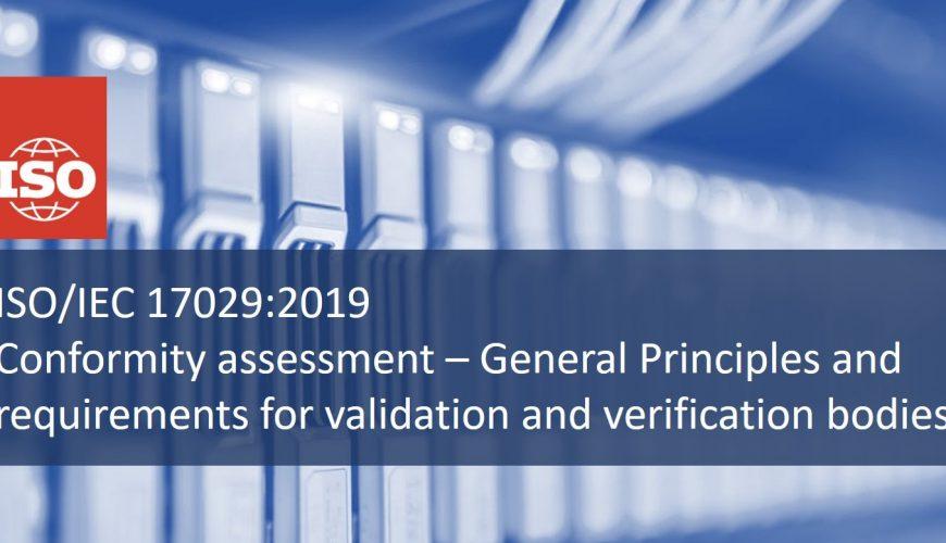 ISO / CEI 17029: 2019