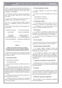 HACCP algérie