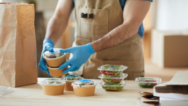 gants alimentaires